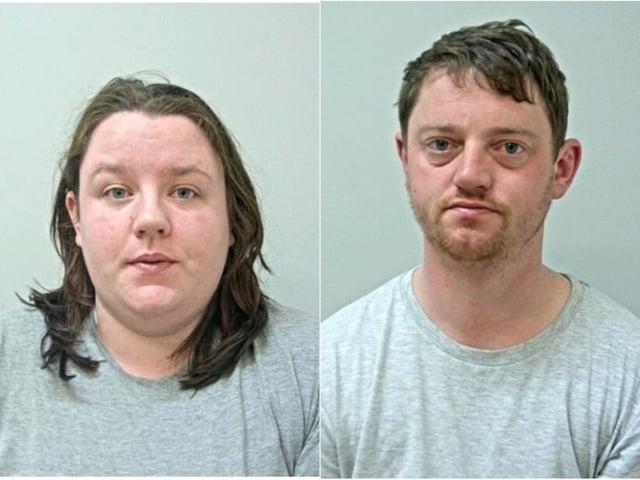 Nicole Cavin and David Noble (photos: British Transport Police)