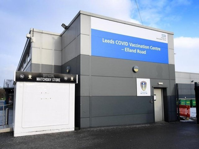 Police were called to Elland Road in Leeds after a man was bitten by a dog on the loose.