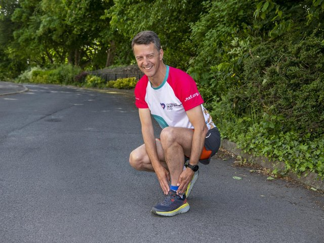 Paul Goodwin is set to endure a gruelling 100km ultra-marathon.