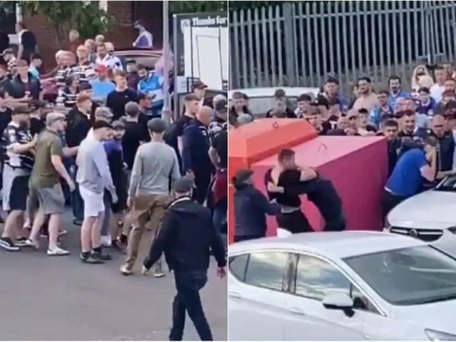 Images released by the police of the incident (Photo: WYP)