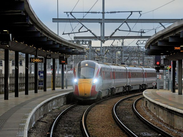 British Transport Police were called to the line on Tuesday, June 8 following reports of a trespasser.