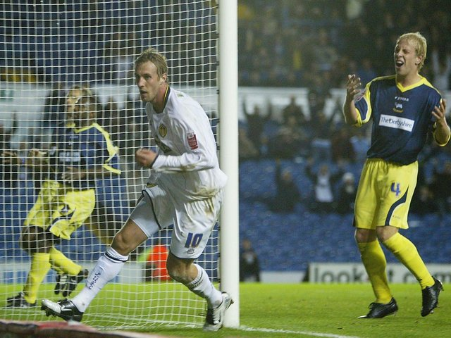 Enjoy these photo memories of Rob Hulse in action for Leeds United. PIC: Getty