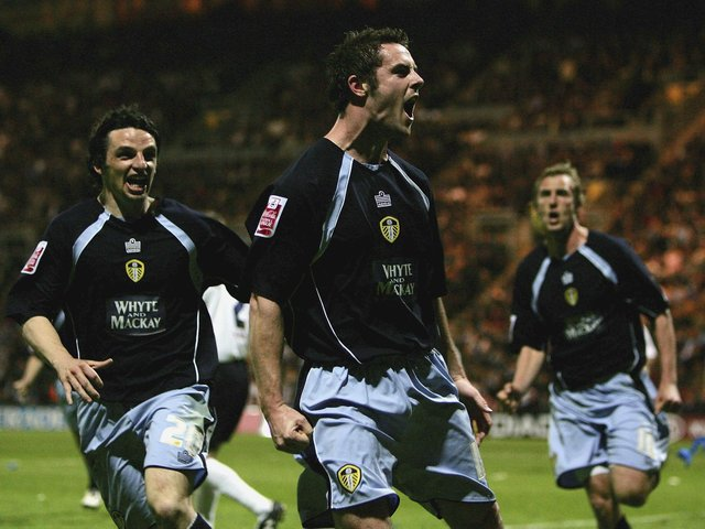 Enjoy these photo memories from Leeds United's 2-0 play-off semi-final win against Preston North End at Deepdale in May 2006. PIC: Getty