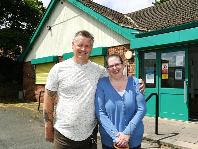 Philip and Angela McConnell  Photo: Jonathan Gawthorpe