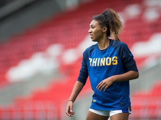 Leeds Rhinos' Sophie Robinson. Picture by Isabel Pearce/SWpix.com.