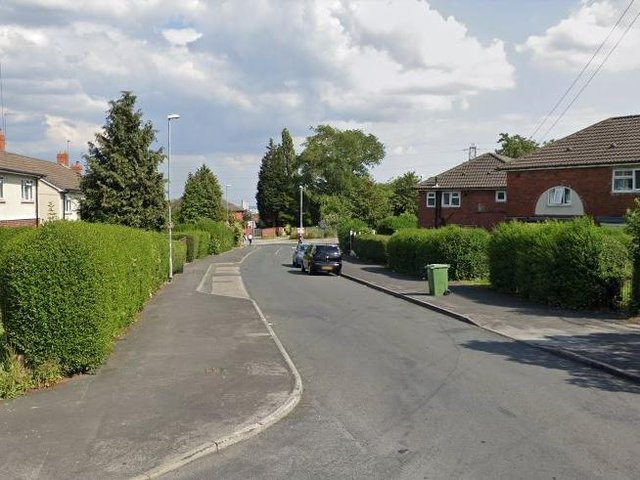 Wyther Park Road, Bramley, where the man was arrested (Photo: Google)