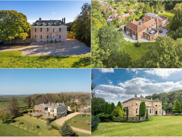 Take a look at the most expensive properties on the market in Yorkshire right now.