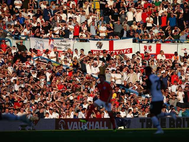 England in action at Elland Road in 2018. Pic: Getty