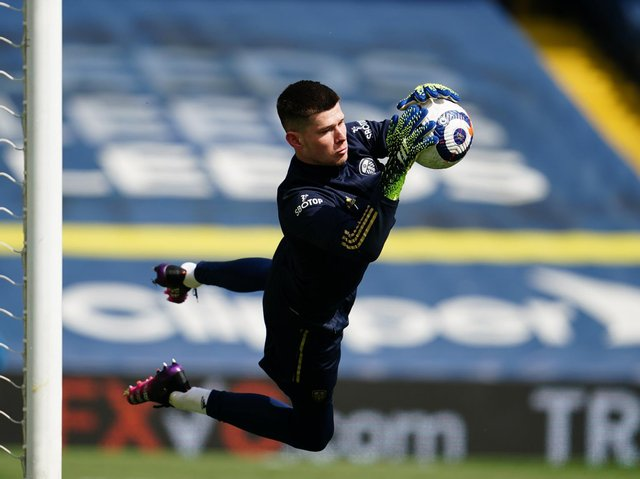 Leeds United goalkeeper Illan Meslier. Pic: Getty
