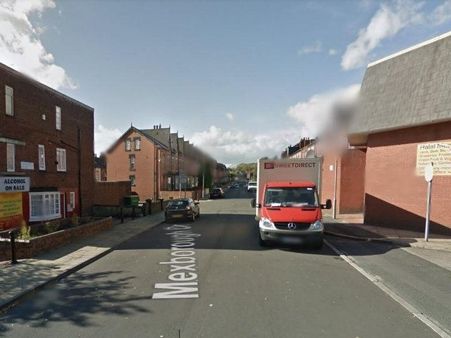 Police were called to reports that a woman had been grabbed by two men in Mexborough Drive, Chapeltown. Photo: Google.