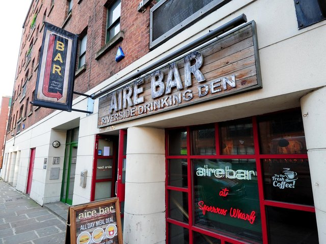 Aire Bar on The Calls.