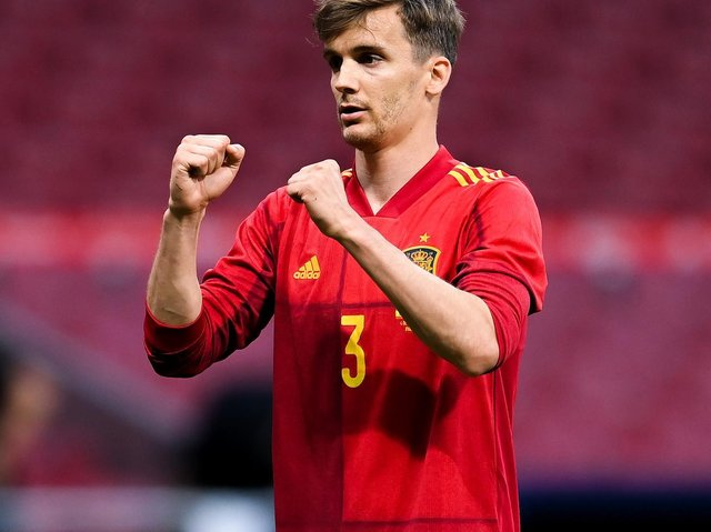 EUROS U-TURN: For Leeds United defender Diego Llorente with the Spain squad. Photo by David Ramos/Getty Images.