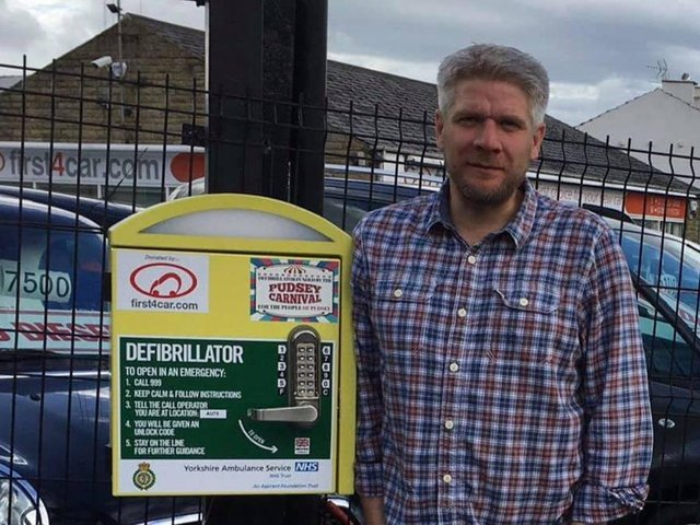 Pudsey councillor organises defibrillator training for coaches following Christian Eriksen collapse cc Simon Seary