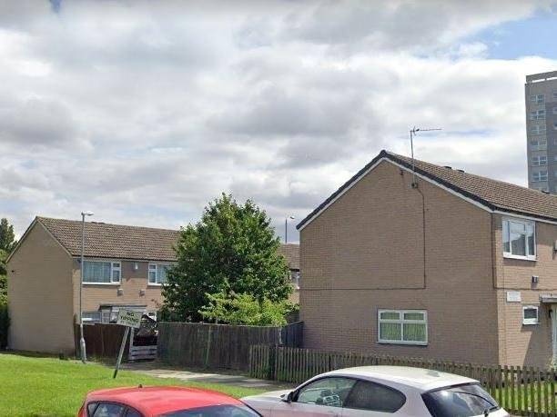 Hebden Green, Whinmoor, where the incident took place (Photo: Google)