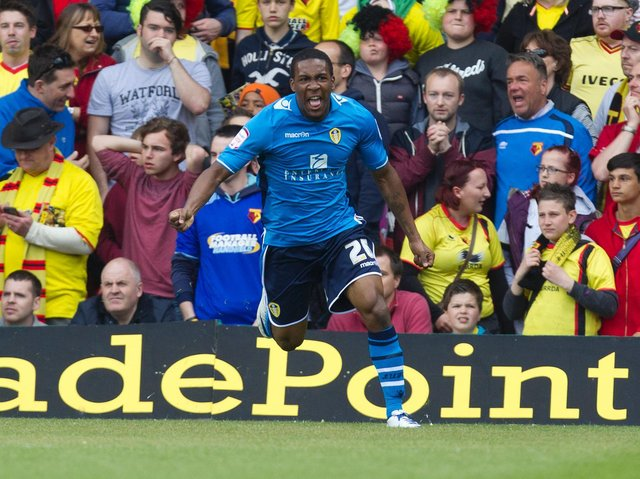 Enjoy these photo memories from Leeds United's 2-1 win at Vicarage Road in May 2013. PIC: Varley Picture Agency