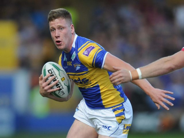 James Duckworth, pictured during his time at Leeds Rhinos, was among East Leeds' try scorers against Milford. Picture by Steve Riding.