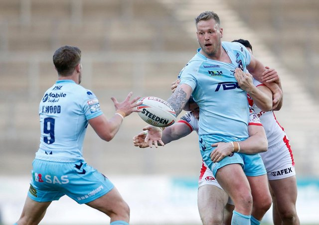 In-form Wakefield Trinity forward Joe Westerman has been called into Shaun Wane's England squad. Picture: Ed Sykes/SWpix.com.