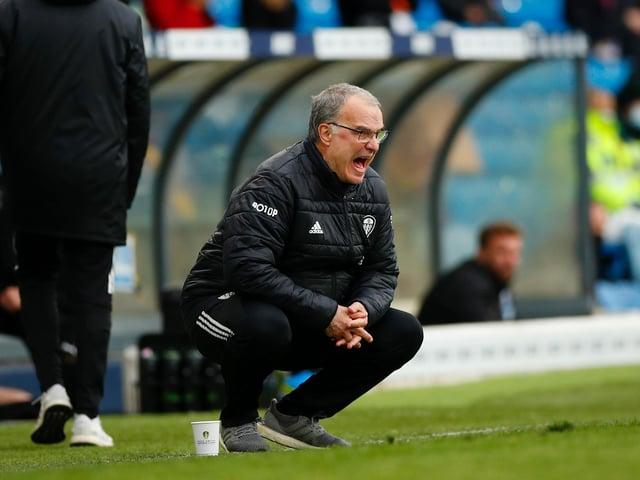 HUGE INFLUENCE: Leeds United head coach Marcelo Bielsa. Photo by Lynne Cameron - Pool/Getty Images.