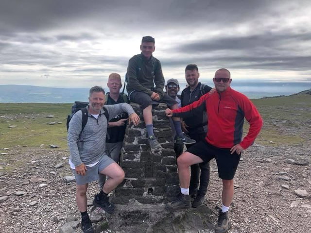 The charity set out on a Three Peaks attempt last weekend in order to raise much needed funds - with a fundraiser launched on GoFundMe.