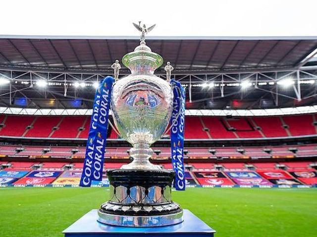 The Challenge Cup at Wembley. Pixcture by Allan McKenzie/SWpix.com.