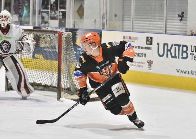 INCOMING: Defenceman Ross Kennedy is the seventh signing of the summer made by Leeds Knights. Picture courtesy of Steve Brodie.