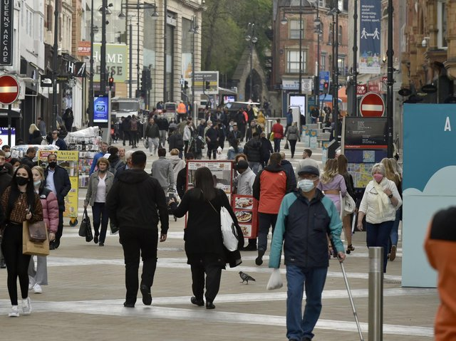Coronavirus cases have risen in 75 out of 107 Leeds areas