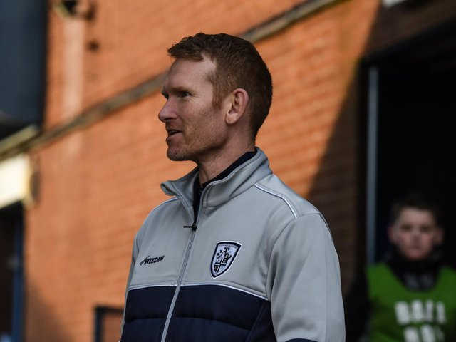 Featherstone Rovers head coach James Webster. Picture: Dec Hayes Photography.