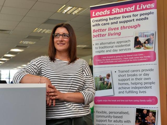 Leeds Shared Lives service manager Indi Matharu. Picture : Jonathan Gawthorpe