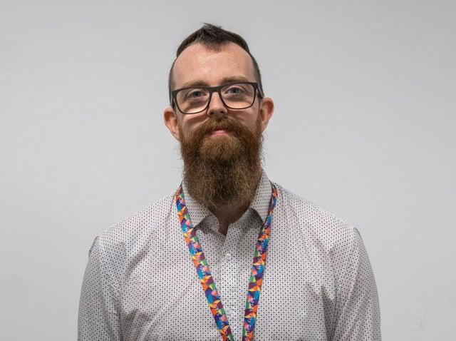 Leeds Sixth Form science teacher, Luke Helstrip.