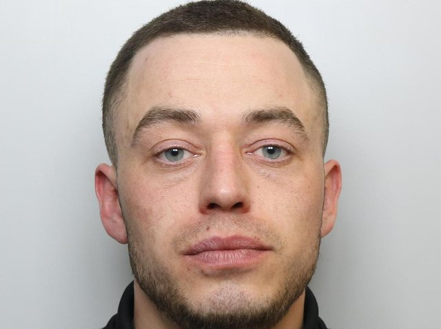 Ashley Clough was locked up for three and a half years over the hammer attack on his rival in a street in Seacroft, Leeds.