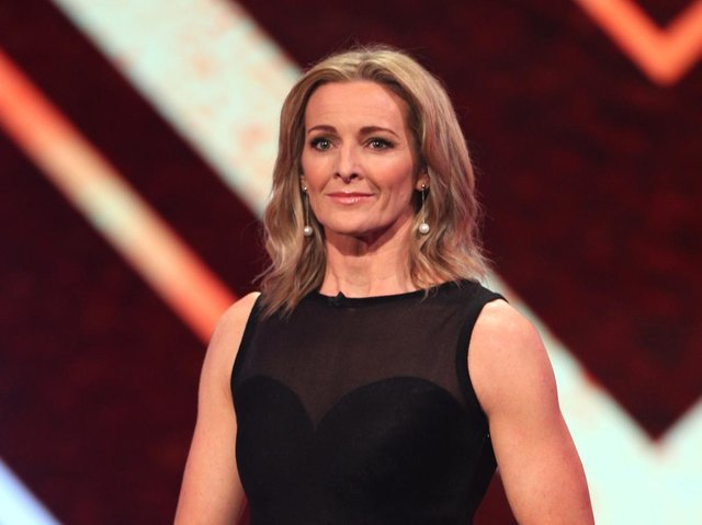Gabby Logan has penned an emotional message about the death of her brother in 1992
