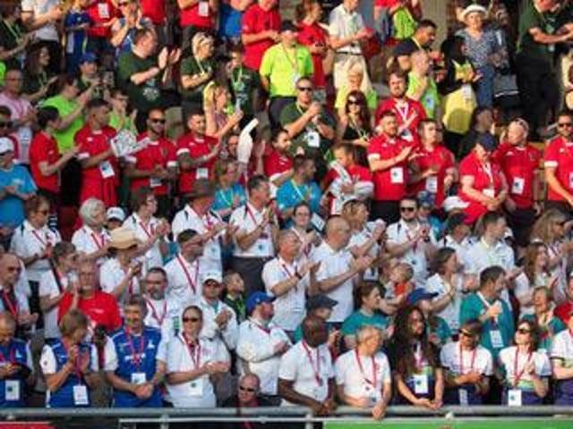 British Transplant Games crowds