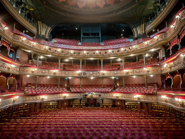 The Victorian built Leeds Grand Theatre has reopened after months of closure due to the pandemic.