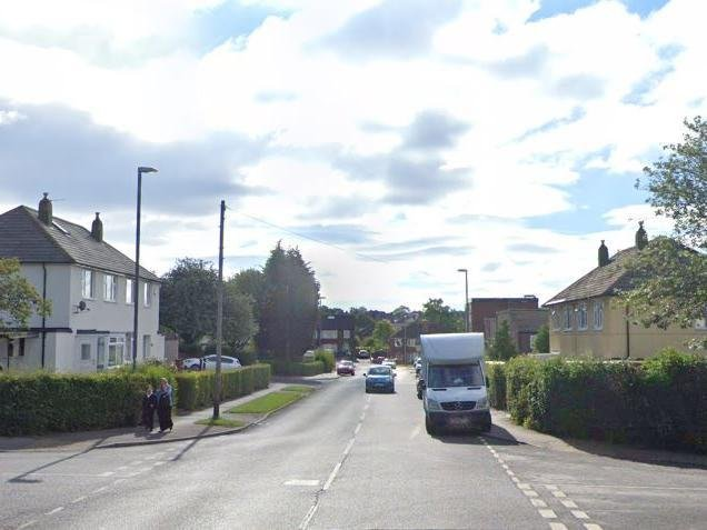 Iveson Drive, Leeds, where officers were attacked (Photo: Google)