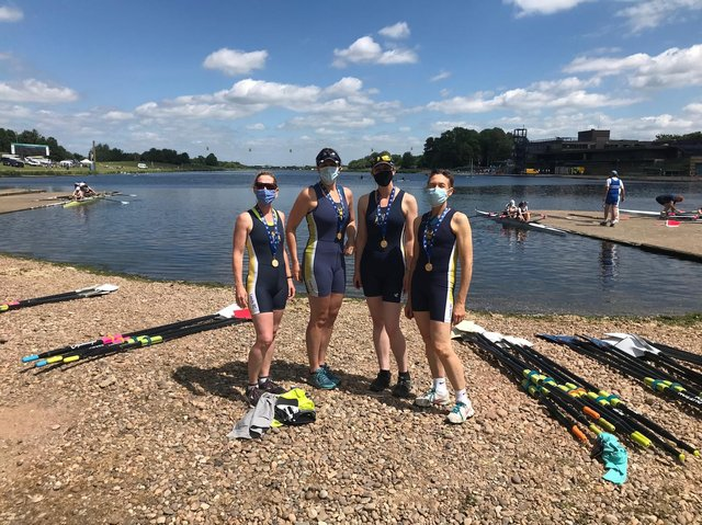 Left to right: Kate Riley, Naomi Assame, Kate O'Connell, Steph Bew