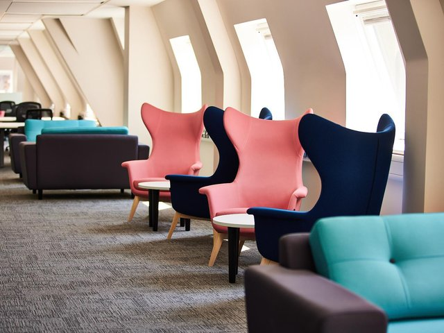 Willmott Dixon Interiors has has completed work on the renovation of the third and fourth floors of Wellington House.