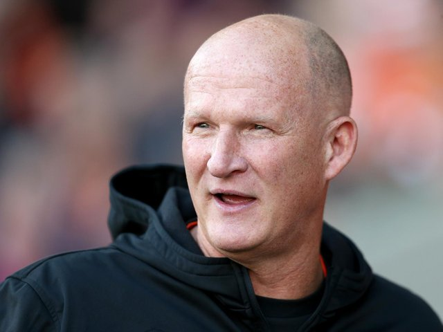 FAMILIAR FACE: Leeds United will travel to Fleetwood Town, managed by former Whites boss Simon Grayson, above. Photo by Lewis Storey/Getty Images.