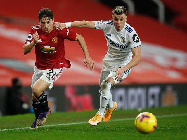 FIRST UP - Leeds United will begin the 2021/22 Premier League season with an early kick-off against Manchester United at Old Trafford. Pic: Getty