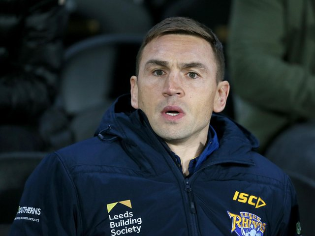 DEPARTING: Kevin Sinfield. Picture: Getty Images.