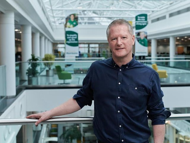 Morrisons' CEO, David Potts