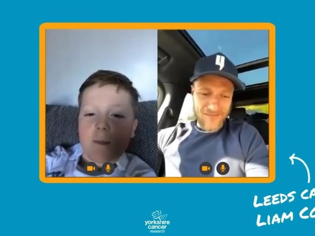 Leeds United captain Liam Cooper has thanked 10-year-old Alfie Moore after the youngster decided to auction his Premier League 2021 sticker book to raise funds for Yorkshire Cancer Research.