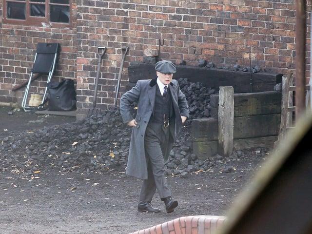 Peaky Blinders filming in Leeds (Image: Anita Maric/SWNS)