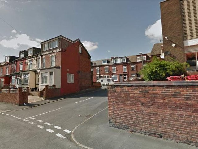 Raincliffe Terrace, East End Park, where the incident took place (Stock image: Google)