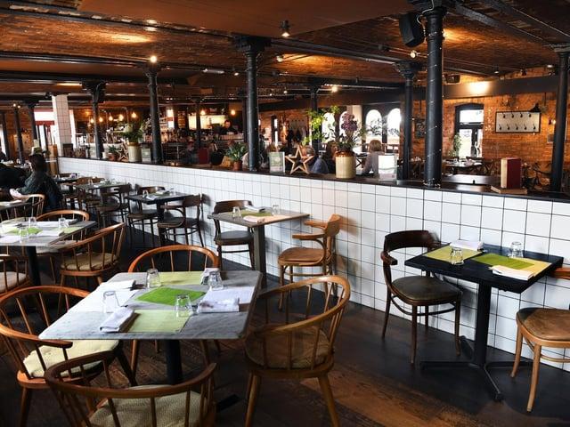 Brasserie Blanc in Leeds city centre