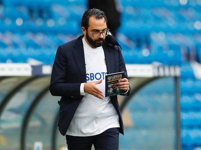 IN TALKS - Victor Orta has been speaking with Leeds United's number one target for the left-back vacancy. Pic: Getty