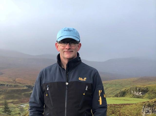 Neil Doherty, a teacher at Boston Spa.