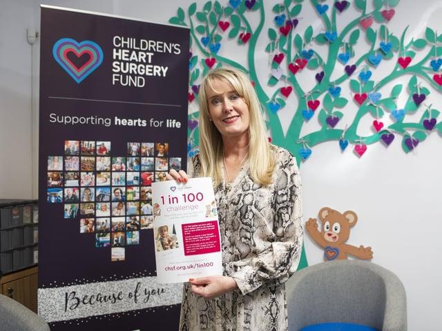 Children's Heart Surgery Fund CEO, Sharon Milner.