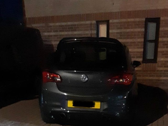 Police recovered a stolen car following a chase in Seacroft. cc WYPRPU
