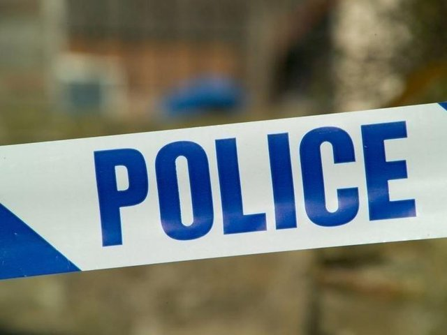 Two people were injured in the incident on Call Lane