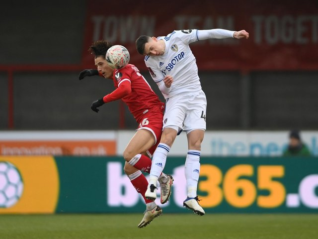 BETTER PLAYER - Oliver Casey says Leeds United head coach Marcelo BIelsa made him better on and off the pitch. The youngster has joined Blackpool on a permanent deal. Pic: Getty
